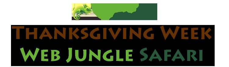 Thanksgiving Week Web Jungle Safari